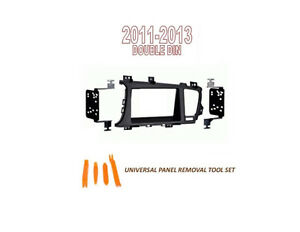 Fits KIA OPTIMA 2011-2013 Car Stereo Double DIN Dash Kit