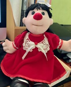 details about vintage molly big comfy couch doll rare red dress 1997 commonwealth plush toy
