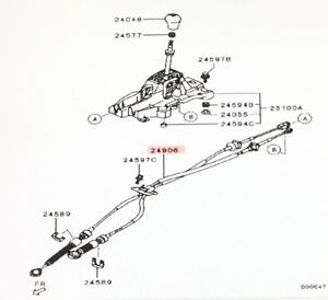 Genuine Mitsubishi NEW Manual Transmission Stick SHIFT