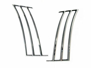 2010-2015 Camaro Chrome Quarter Panel Fender Trim Shark