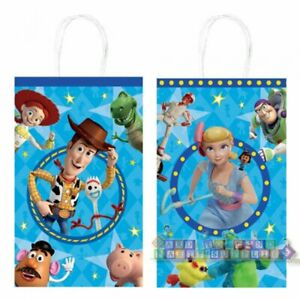 details about toy story 4 kraft paper bags 8 birthday party supplies treat loot favors