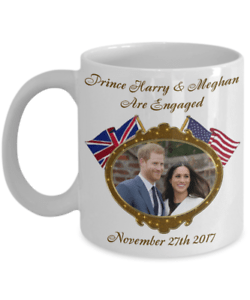 Prince Harry And Meghan Are Engaged Commemorative Coffee