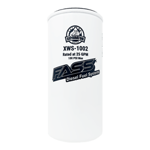 FASS Fuel Air Hydro Glass Extreme Water Separator HD
