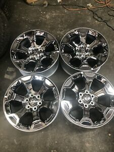 Dodge Ram 20 Inch Chrome Clad Wheels : dodge, chrome, wheels, Takeoff, Dodge, Factory, Chrome, Wheels, 2019-20