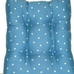 Polka Dot Rocking Chair Cushions Reclining Chairs For Sale 1 Outdoor Patio Wicker Cushion Moonstone Blue 19 5 X Image Is Loading