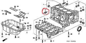 Ping Sensor Original Honda Civic Cr-V Stream Fr-V Accord