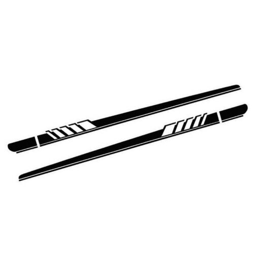 Auto Parts & Accessories Car Body Side Skirt Black