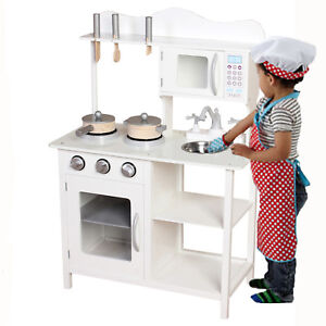 play kitchens for boys kitchen ceramic tile kids wooden girls pretend toy cooking role image is loading
