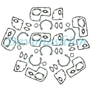 NEW HIGH QUALITY 6SETS FULL GASKET FOR STIHL 070 090