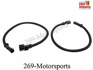 Mustang o2 Oxygen Sensor Extension Wire Harness Pair 1987