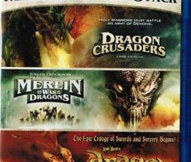 Image Is Loading Dragon Crusaders Merlin War Dragons Dragon Blu Ray
