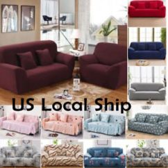 Easy To Clean Sofa Material Sofas Online Finance Uk 1 2 3 4 Seater Washable Fashion Floral Stretch Modern Slipcover Details About