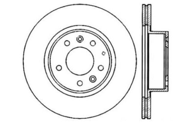 Front Left Brake Rotor For 1993-1995 Mazda RX7 1994