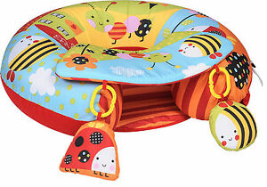 baby blow up ring chair lazy boy big man play inflatable seat nest sitting support ebay