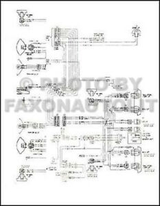 1985 GMC Safari Chevy Astro Van Wiring Diagram Original