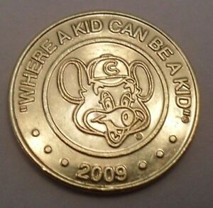"2009 ""Chuck E. Cheese"" Game Token **FREE SHIPPING** 