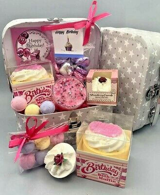 Mum To Be Pamper Hamper : pamper, hamper, Ladies, Happy, Birthday, Luxury, Pamper, Hamper, Sister, Friend