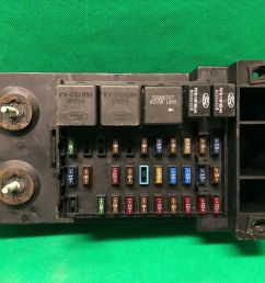 1998 98 ford f250 f150 truck interior fuse box relay fusebox f85b 14a067 aa for sale online [ 1600 x 1200 Pixel ]