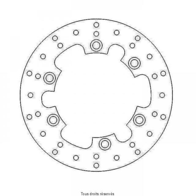 Brake Disc Rear Sifam for Yamaha Motorcycle 500 Rd LC 1984