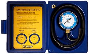 Yellow Jacket 78060 Gas Pressure Gauge Kit 0 to 35 Water Column Natural or LP