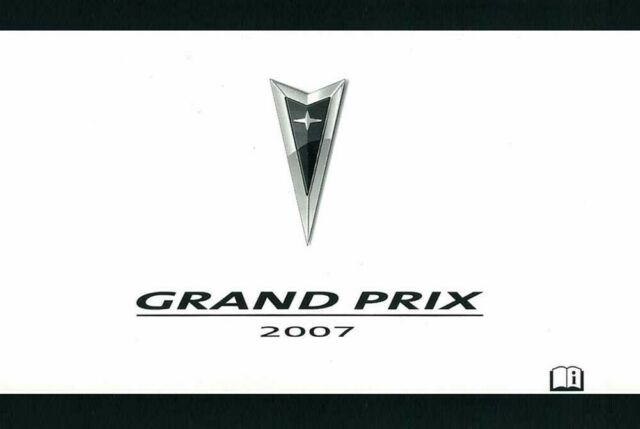 2007 Pontiac Grand Prix Owners Manual User Guide Reference