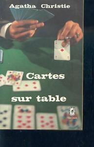 Cartes Sur Table Agatha Christie : cartes, table, agatha, christie, Cartes, Table, Agatha, Christie, Livre, Poche, Policier