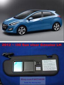 85210-3X040-TX - Genuine Hyundai SUNVISOR ASSEMBLY,LH