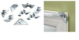 details about curtain rod holder 8 count instant and easy no drill window curtain rod bracket