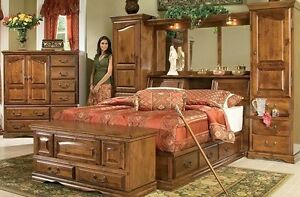 Furniture Traditions Alder Hill Pier Group Wall Unit And