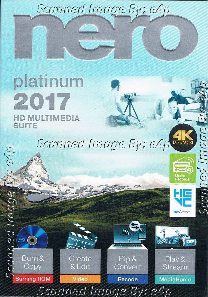 Nero 2017 Platinum Full : platinum, PLATINUM, MULTIMEDIA, SUITE, ULTRA, CREATE, CONVERT, SEALED!
