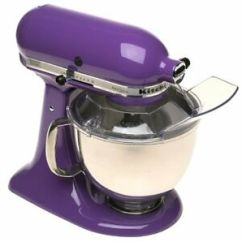 Kitchen Aid Colors Lowes Ideas New Kitchenaid Artisan 5 Quart Stand Mixer Ksm150psgp Grape Purple Image Is Loading