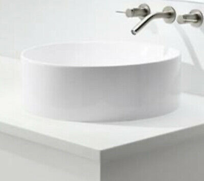 kohler vox white vessel sink round countertop new free shipping ebay