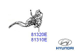 Genuine Hyundai i30 Estate Door Latch RH Drivers Side