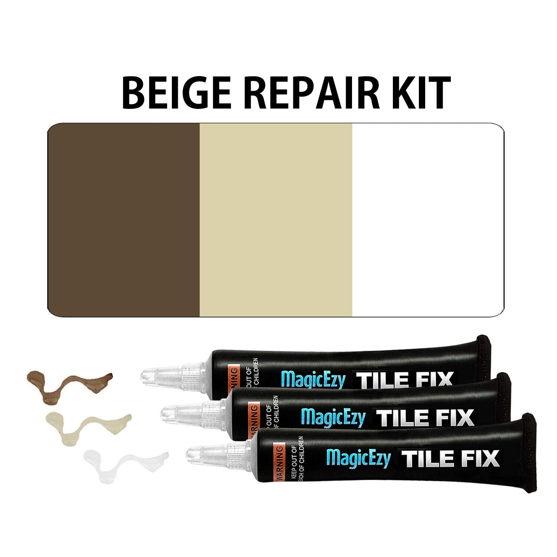 magicezy tile fix tile repair kit beige