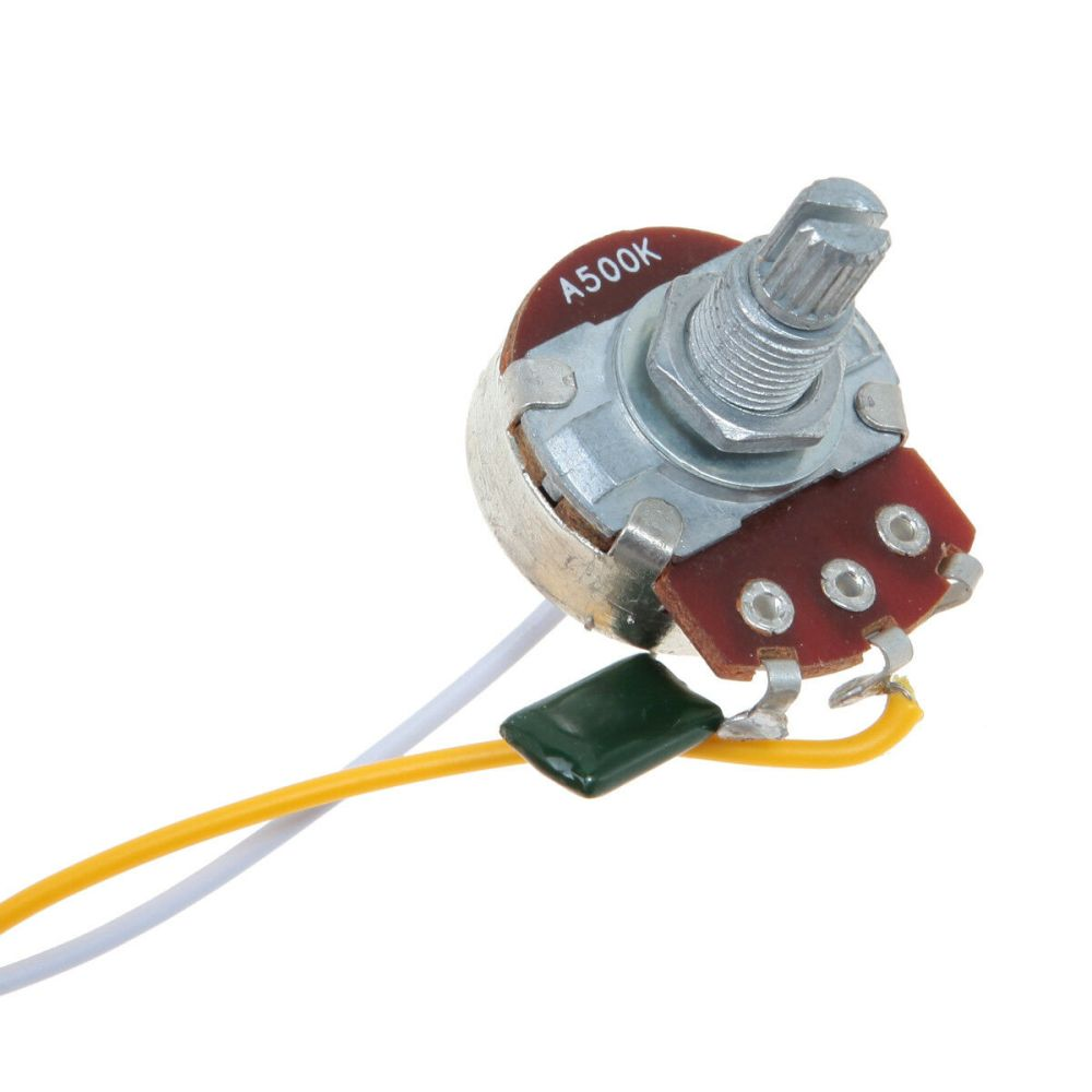 medium resolution of two pickup guitar wiring harness 3 way blade switch 500k great w two pickup guitar wiring