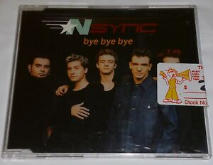 NSYNC BYE BYE BYE AUSTRALIA CD SINGLE POP 2001 RARE JUSTIN TIMBERLAKE | eBay