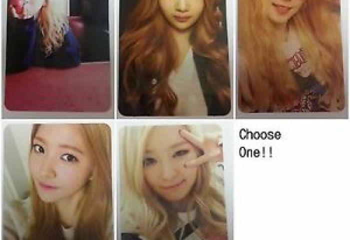 Red Velvet 1st Mini Ice Cream Cake Original Official Photocard K Pop