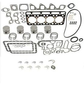 Engine Overhaul Kit STD for Bobcat 743 with Kubota V1702