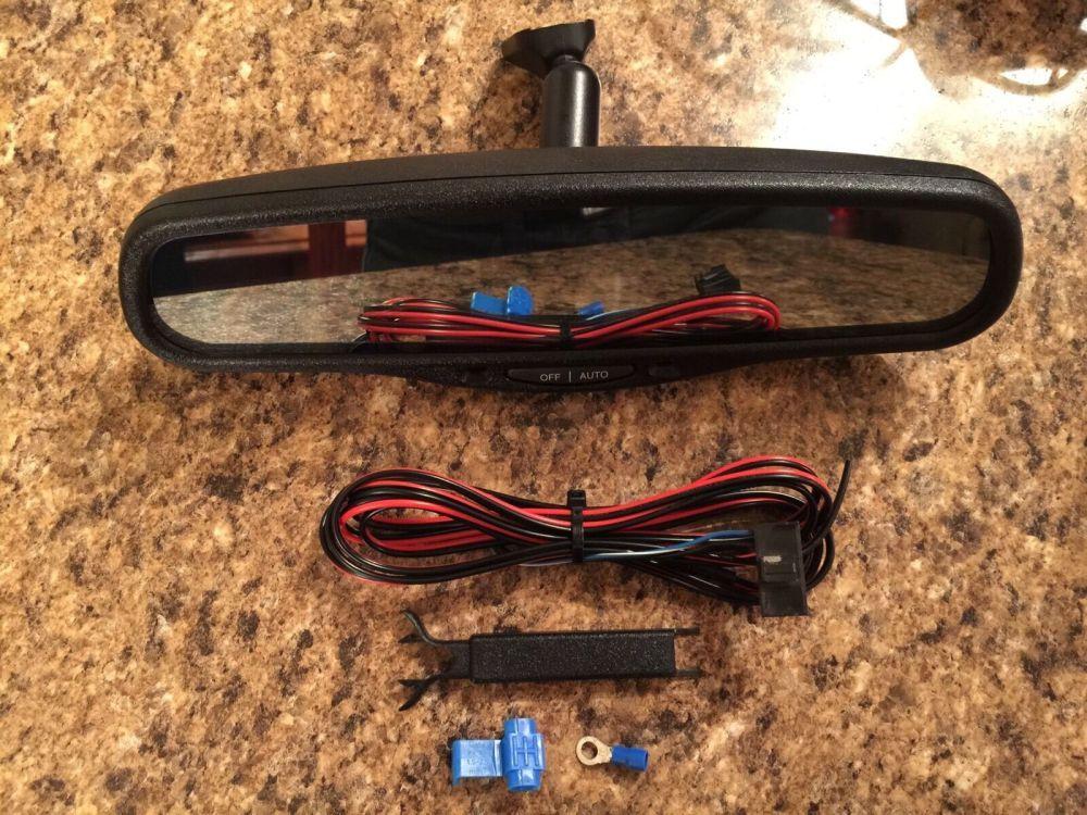 medium resolution of mirror 015306 gntx 187 ford windstar auto dimming rear view black gentex for sale online ebay