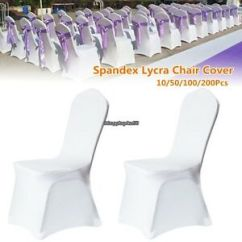 Chair Covers Wedding Ebay Toddler Wood And Table 200 Pcs Lycra Spandex Stretch Party Event Image Is Loading