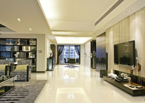 polished porcelain tile rectified 32x32 rain forest light beige floor wall shine building hardware selfiestar flooring tiles