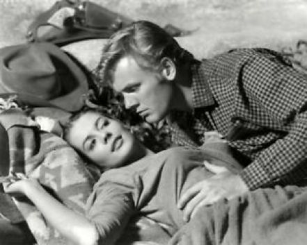 Image result for the burning hills tab hunter and natalie wood