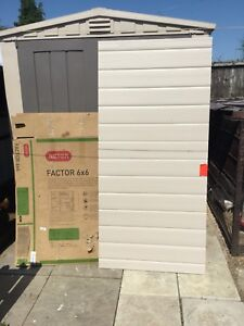 Image Is Loading Keter Plastic Factor Shed Side Panel Spare Part