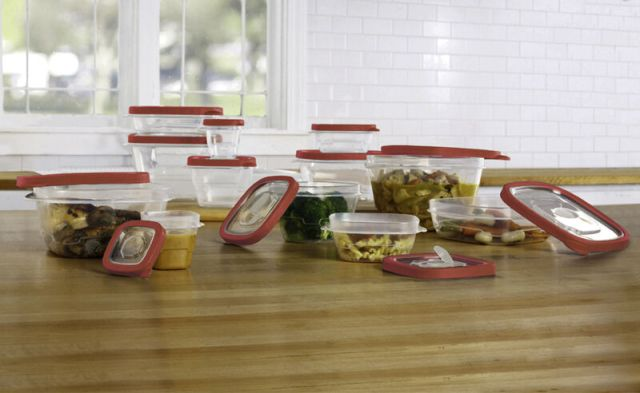 24 Pcs Plastic Food Storage Containers Set With Vents & Air Tight Locking Lids 2