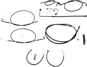 Complete Handlebar Cable/Wire Harness/Brake Line Kit LA
