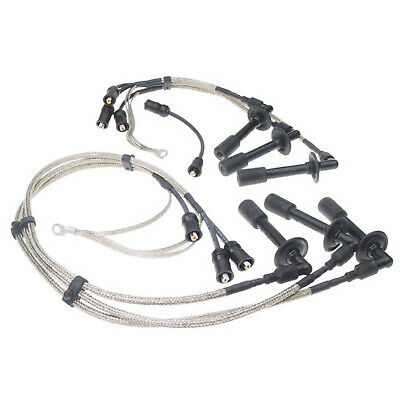 🔥Beru ZE746 Spark Plug Wire Set Stainless Braided Wires