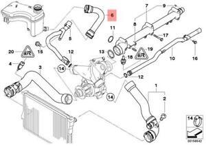 Genuine Engine Thermostat Water Hose BMW M3 E46 CSL