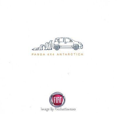 2014 Fiat Panda 4x4 Antarctica Edition 12-page UK Car