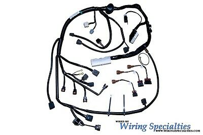 Wiring Specialties Main Engine Harness For S13 SR20DET