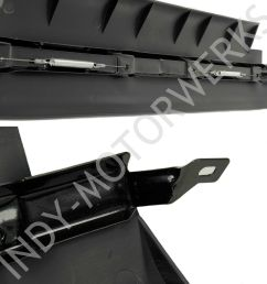 details about front center spoiler section corvette c5 lower air dam improve radiator cooling [ 1500 x 1500 Pixel ]